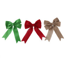 Event DIY Bows Craft Bows Gifts Festival Party Supplie Decor Burlap Bowknot AA