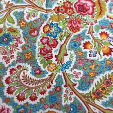 """Vervain Rubeina Floral 100% Cotton Fabric 54"""" Wide Sold By The Yard"""