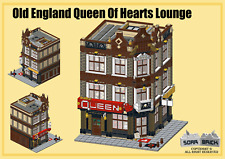 LEGO custom modular building instruction - Old England Queen Of Hearts Lounge