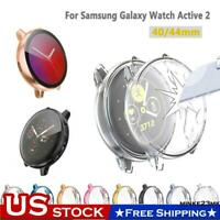 40/44mm Samsung Galaxy Watch Active 2 Full Protect Case+Screen Protector Cover