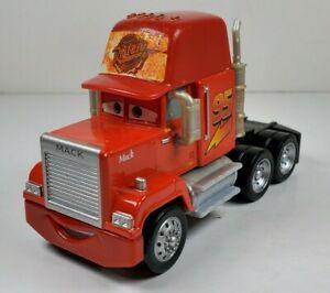 "Disney Pixar Cars Mack Semi Truck 4"" Long Diecast & Plastic Vehicle Mattel"