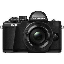 Olympus OM-D E-M10 Mark II  Mirrorless Camera + 14-42mm Lens Kit Black
