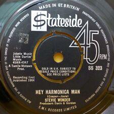 "STEVIE WONDER HEY HARMONICA MAN 45 STATESIDE 7"" SS 323 UK EX 1964"