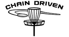 Disc Golf Vinyl Sticker Decal Chain Driven