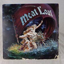 """Meat Loaf Dead Ringer EX Vinyl TESTED 1st Press """"Reeks of Chicken"""" 1981"""