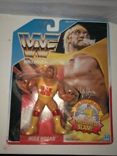 Hasbro WWF MOC Hulk Hogan Series 1 Figure MOC 1990 Gorilla Press Holy Grail WWE