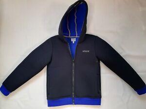 Luxus Armani Junior Neoprene Jacket Kinder Jacke 10A 142 cm