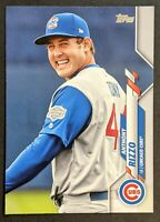 Anthony Rizzo 2020 Topps Update Photo Variation #U-201 SP