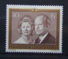 Liechtenstein 1974 10f Prince Francis Joseph & Princes Gina MNH