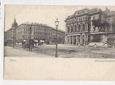 Wien Schwarzenbergplatz Austria Vintage U/B Postcard 260a