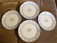 "International Calico Stoneware From Japan, Salad Plates....Set of 4....7.5"""
