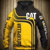 Cat Caterpillar Hoodie 3D Digital Printed Pullover Hooded Jacket Fan's Coat Tops