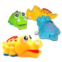 Plastic Keep On Moving Crocodile Wind-up Toy Clockwork Crocodile Kids X-mas 0CP