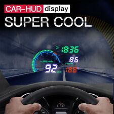 Universal 5.5 inches Car OBD2 HUD Head Up Display w/ Digital Speed Warning Alarm