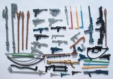 NICE 48+ Weapons LOT for Vintage Star Wars Figures