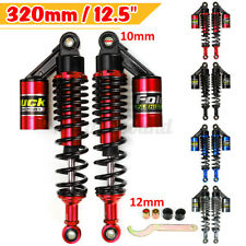 320mm 12.5'' Motorcycle Rear Air Shock Absorber Gas Suspension Damper Round Hole