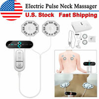 Back Neck Massager Electric Pulse Cervical Magnetic Therapy Massager Pain Relief