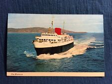 Color Photo Postcard Of The Yarmouth-Bar Harbor ferry Bluenose