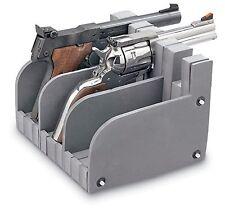 3 Guns Storage Rack Safe Pistol Modular Holder Handgun Rest Display Stand Safety