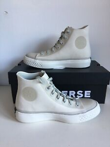Converse Chuck Taylor All Star Modern Hi White Beige 156645C Gr 37,5 23cm Uk 4.5