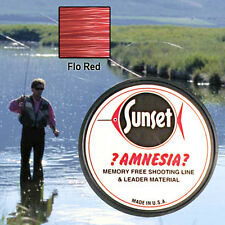 AMNESIA MEMORY FREE FISHING LINE 25 LB RED  SS06425