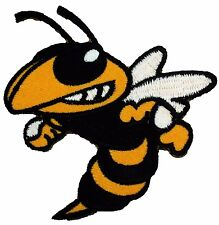 Wasp Hornet Sting Cool Embroidered Patches Jacket Iron On Jean Patches P048