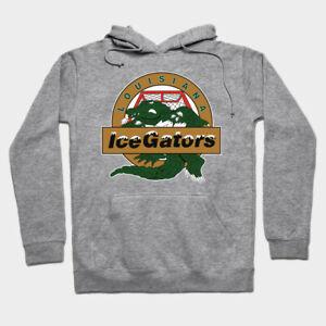 Louisiana IceGators ECHL Hoodie Hooded Sweatshirt Ice Gators Cajundome SPHL