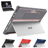 For Microsoft Surface Pro 7 All-in-One Protective Rugge Case Type Cover Keyboard