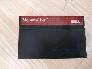 Sega master system Moonwalker perfettamente funzionante