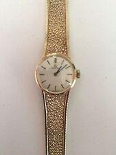 Ladies Vintage 9 Carat Gold Omega Watch