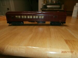 VINTAGE AMERICAN FLYER S-SCALE  LIGHTED  COMBINE CAR-A.F.L.-NIAGARA FALLS-953