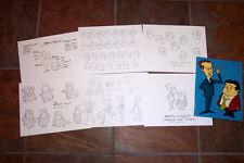 Abbott & Costello Animators' Model Sheets Hanna Barbera Artist Reference Guide