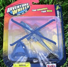 APACHE AH-64 Maisto Adventure Wheels TAILWINDS ~ NEW SEALED in Blister Pack!