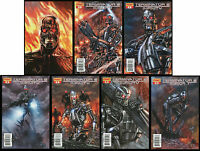 Terminator 2 Infinity Comic set 1-2-3-4-5 Lot w/ Variant & Incentive Pat Lee art
