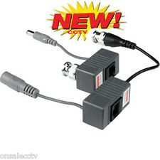 Hd-Ahd Ip Security Camera Bnc Video Balun with Power Rj45 Connectors