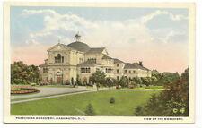 WASHINGTON DC Franciscan Monastery Vtg WB Postcard