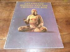 CAT STEVENS - Livre de partitions / Scores book !!! BUDDHA AND THE CHOCOLATE BOX