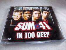 SUM 41-IN TOO DEEP 3TRKS + VIDEO-MERCURY 588 898-2 UK MINT CD