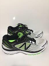 New Balance 860v7 Running Shoes White/Green/Black Men's Size 8 2E, M860WB7