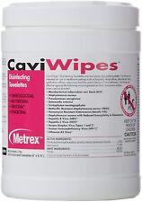 Surface Disinfectant CaviWipes Multi-Purpose Towelettes Wipes 220 Per Tub