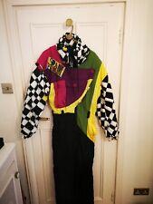 Vintage  Retro Ski Suit 1980s All In One Jumpsuit 8/10