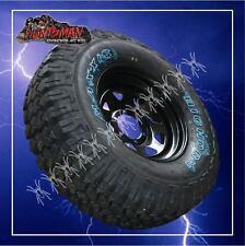 """15"""" black steel wheel rim & Maxxis 762 Bighorn 35X12.5R15L/T MUD tyre 35 12.5 15"""
