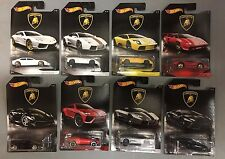 Lamborghini Complete 8 Car Set * 2017 Hot Wheels