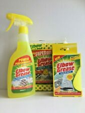 ELBOW GREASE CLEANING KIT KITCHEN BATHROOM HOME **FAST DISPATCH