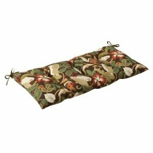 Pillow Perfect Indoor/Outdoor Coventry Brown Swing/Bench Cushion