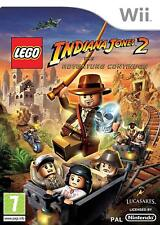 Lego Indiana Jones 2 The Adventure Continues Wii NEW And Sealed