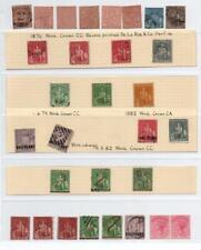 TRINIDAD: Queen Victoria Examples - Ex-Old Time Collection - Album Page (33406)