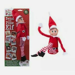 """12"""" Deluxe Fully Posable Bend And Pose ELF Girl"""