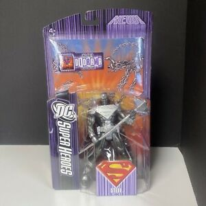 RARE NEW DC SuperHeroes Steel Figure includes Diorama 2007 Sealed