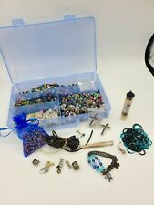 New ListingLarge Crafting Supplies Lot of Beads Jewelry Pendants Arts and Crafts Vintage ?